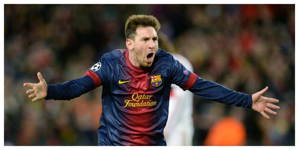 Lionel Messi scored 91 goals in 2012, a feat no footballer has met