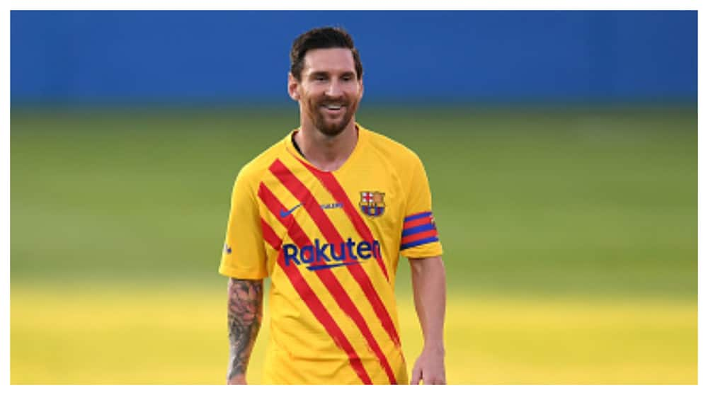 Lionel Messi makes 1st appearance for Barca in 3-1 pre-season win over Gimnastic
