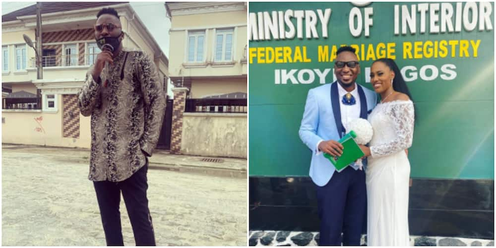 Nigerian rapper Pepenazi ties the knot with girlfriend