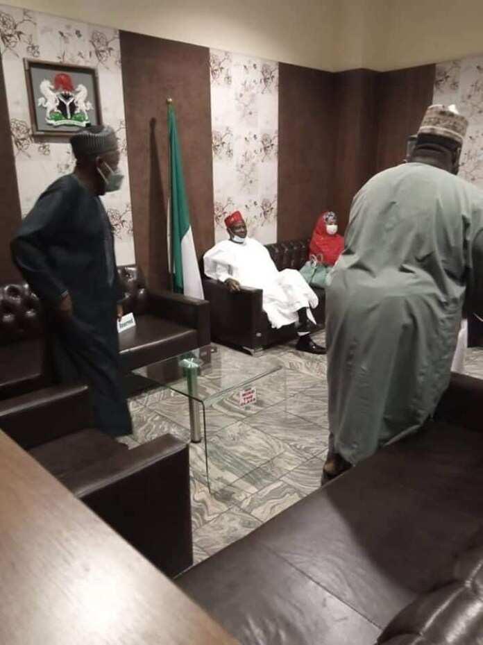 Kwankwaso da Ganduje Hoto: dailynigerian.com