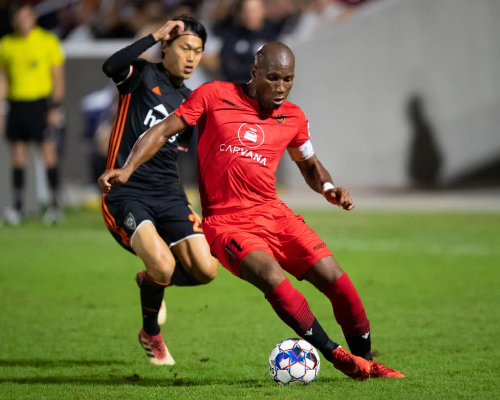 Didier Drogba retires from professional football after defeat in USL Cup final