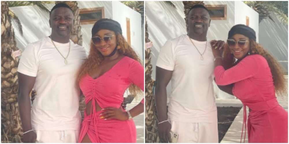 Ini Edo meets Akon