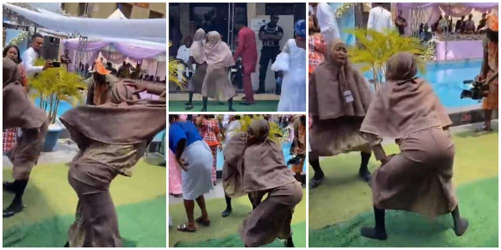 Nigerians react to viral video of two young Muslim ladies in hijab twerking hard at event
