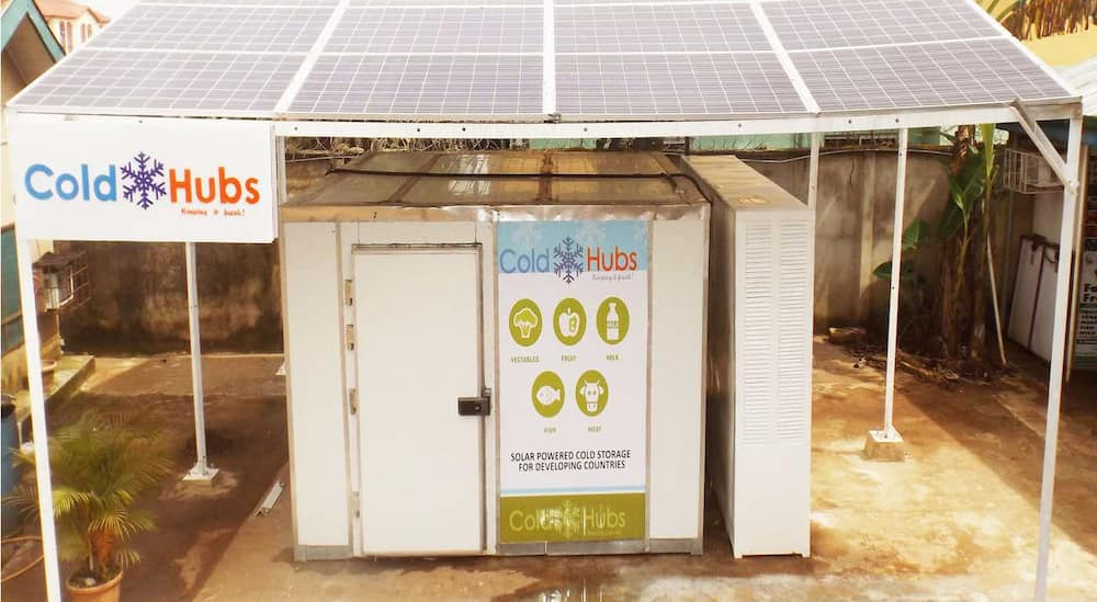 Nigerian Entrepreneur Invents Giant Solar-Powered Refrigerators That Cut Spoilage to Help Farmers Earn 25% More