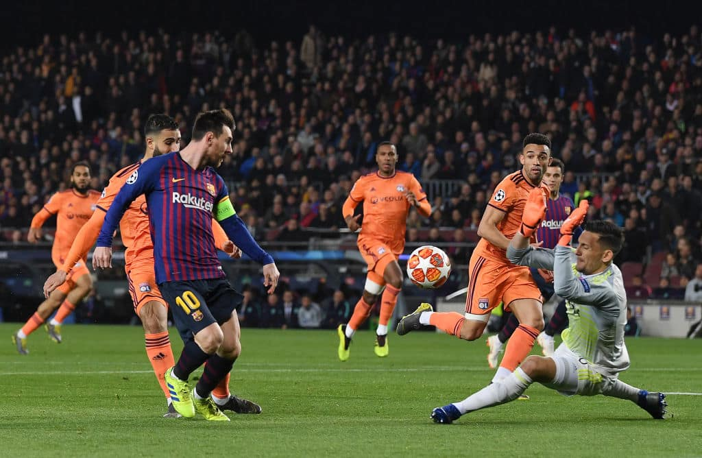 Spanish League side UDA Gramenet are the only club Messi is yet to defeat