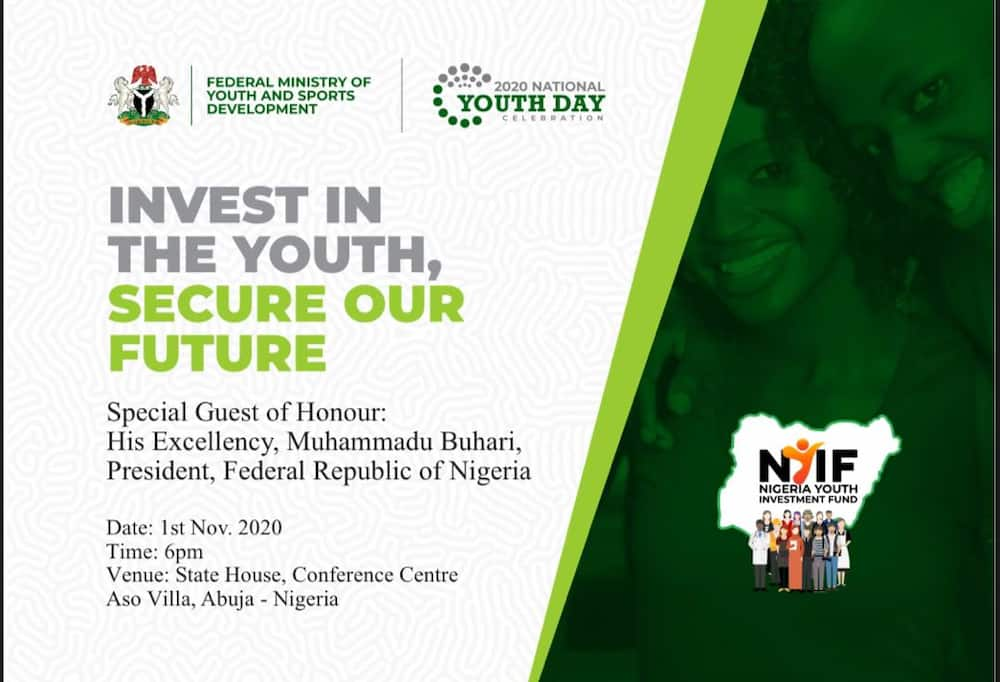 Nov. 1st. National Youth Day: Your Time has come, Minister Rallies Youth to dialogue