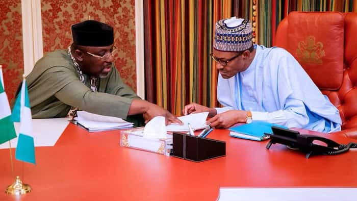 After Imo visit, President Buhari sends crucial message to Okorocha