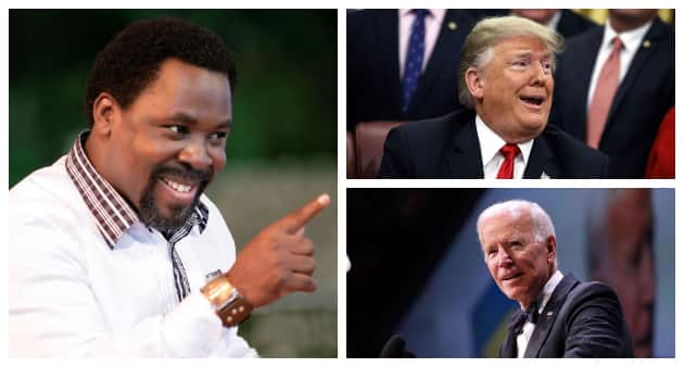 US 2020: TB Joshua says Christians will be disappointed