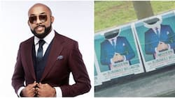 Banky W laments after his campaign posters were defaced by hoodlums in Lagos