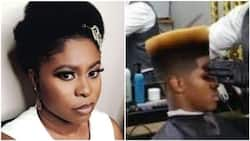 Nigerian barbers will never attend to women in these states until they get this in return - Lady claims, stirs reactions