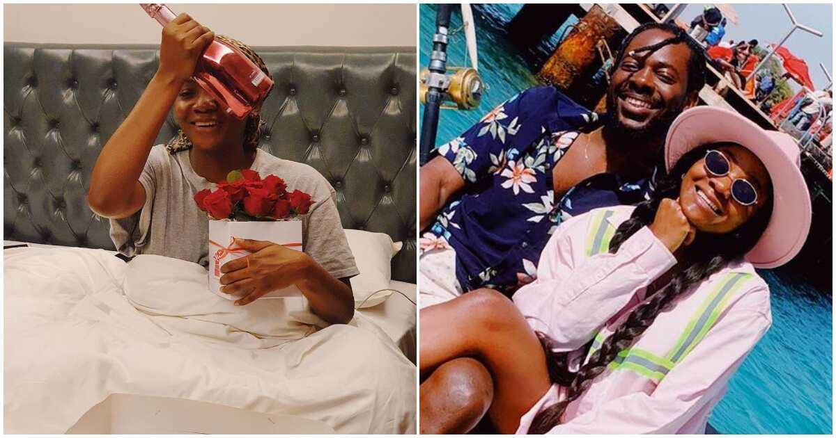 Valentine's Day: Simi says Adekunle Gold's gift made her break down in tears
