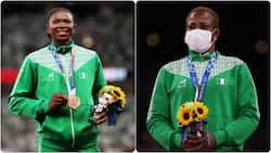 Nigeria's final position on medal table revealed after winning silver and bronze medals at Tokyo 2020 Olympics