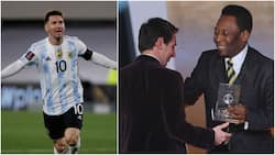 Messi breaks Pele's longstanding goals record after scoring hat-trick in World Cup qualifier win vs Bolivia