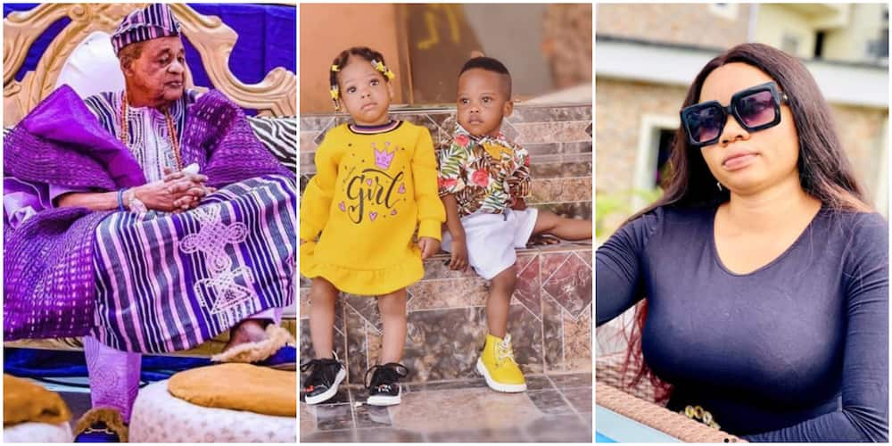 Celebrations as the Alaafin of Oyo's twins turn 2