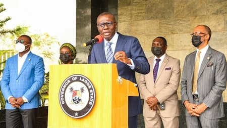 Gov Sanwo-Olu flashes red flag, as COVID-19 cases surge in Lagos