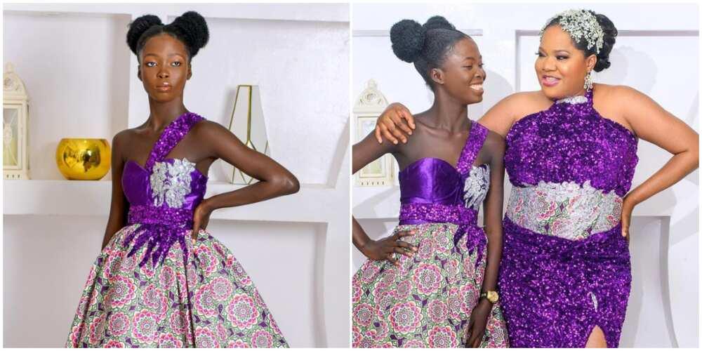 Toyin Abraham heaps praise on her stepchild Tope