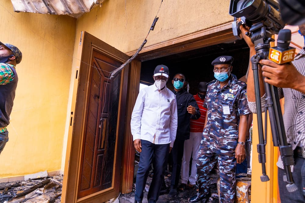 Riots: We won't allow hoodlums destroy our state, says Gov Okowa