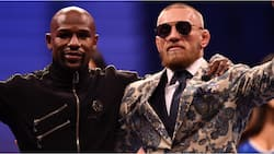 Mayweather trolls McGregor after unfortunate incident at UFC 264