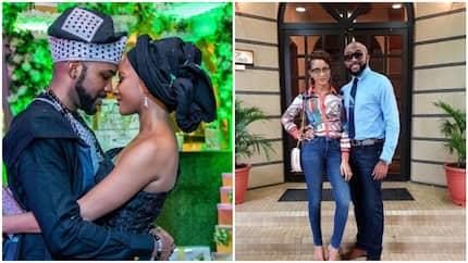 Banky W shares important advise to married men, says 'your wife is always right'