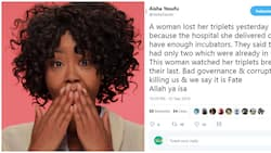 UPDATE: Activist, Aisha Yesufu issues apology for tweet about woman who lost triplets at Aminu Kano Teaching hospital