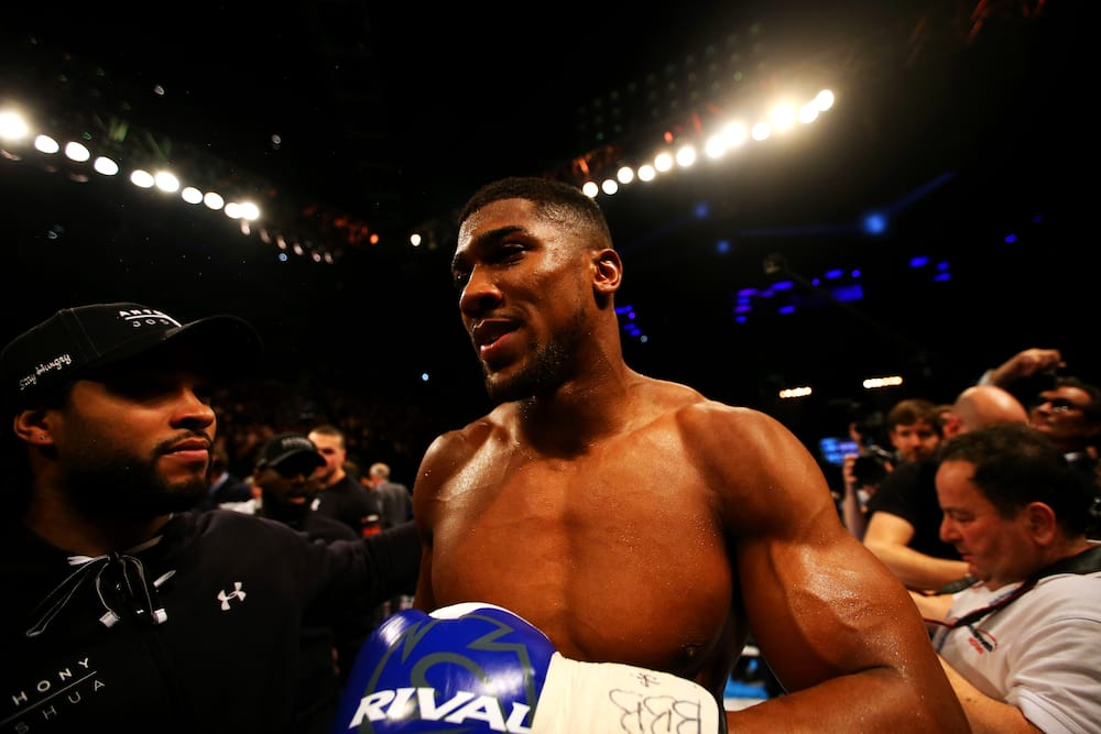 Anthony Joshua becomes UK's first £100million boxer before Tyson Fury
