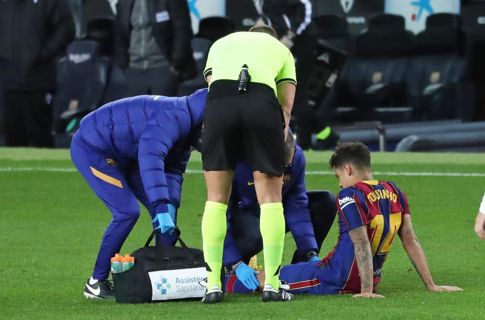 Philippe Coutinho: Barcelona lose another player to injury after Lionel Messi