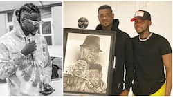 We miss you - SInger Kizz Daniel and brother celebrate their late dad's posthumous birthday (photo)