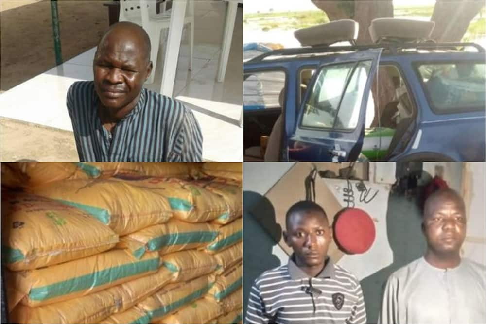Soji sun damke babban dan Boko Haram, sun kama buhuhunan sinadaran hada Bam 281
