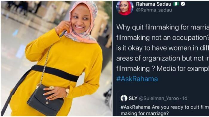 I am not quitting filmmaking for marriage - Actress Rahama Sadau says