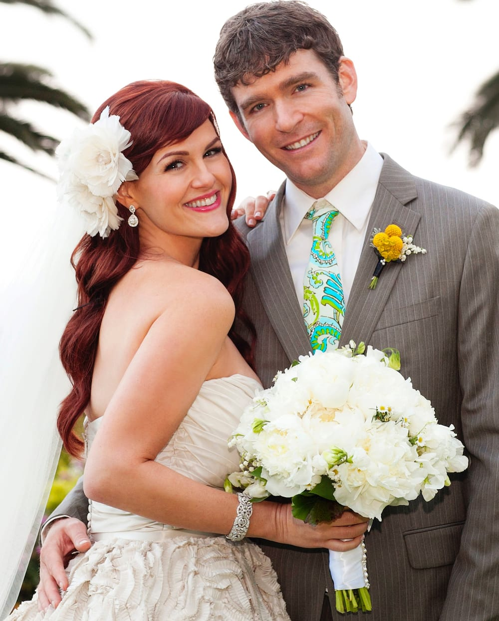 Sara Rue and Kevin Price