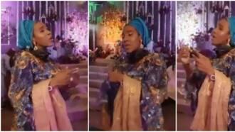 Rich people don't do legwork: Reactions as Aliko Dangote's lookalike daughter shows off impressive dance steps