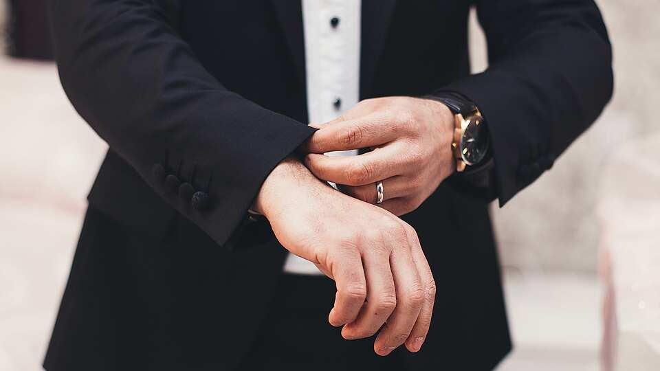 Suit sleeve length