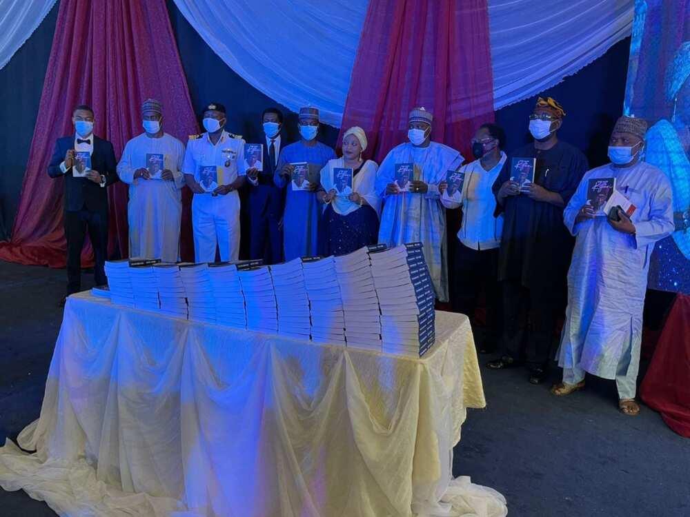 Dignitaries converge in Abuja to honour late Abba Kyari at book launch