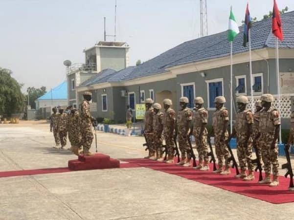 Breaking: Fire breaks out at Nigerian Army Headquarters