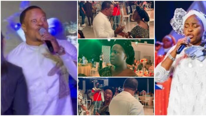 Gospel singer Lanre Teriba heavily lambastes Tope Alabi as Yinka Alaseyori reacts uncomfortably in new video