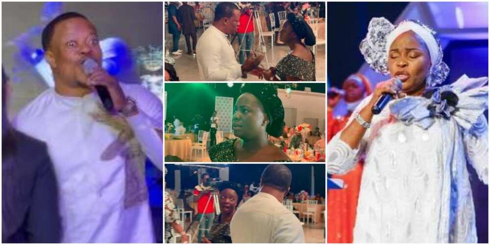 Lanre Teriba reacts to Tope Alabi, Yinka Alaseyori drama.