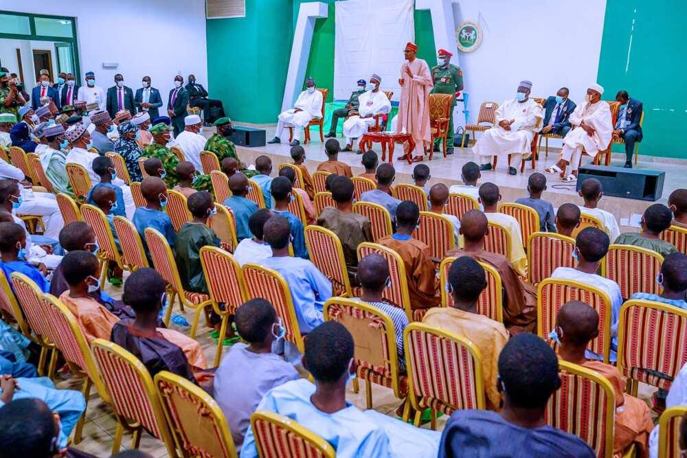 Buhari says abduction of Katsina students was a plot to embarrass his administration