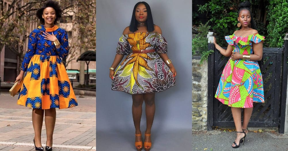 African Fashion Dresses For Las