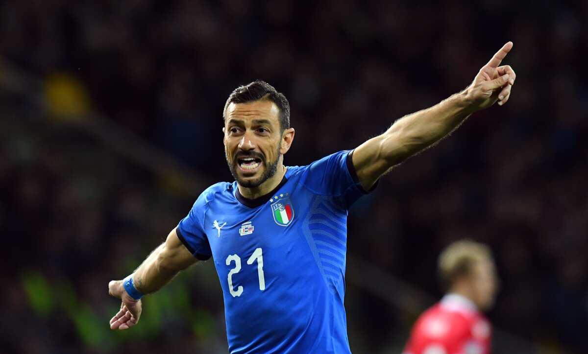Fabio Quagliarella of Sampdoria wins Serie A golden boot with 26 goals