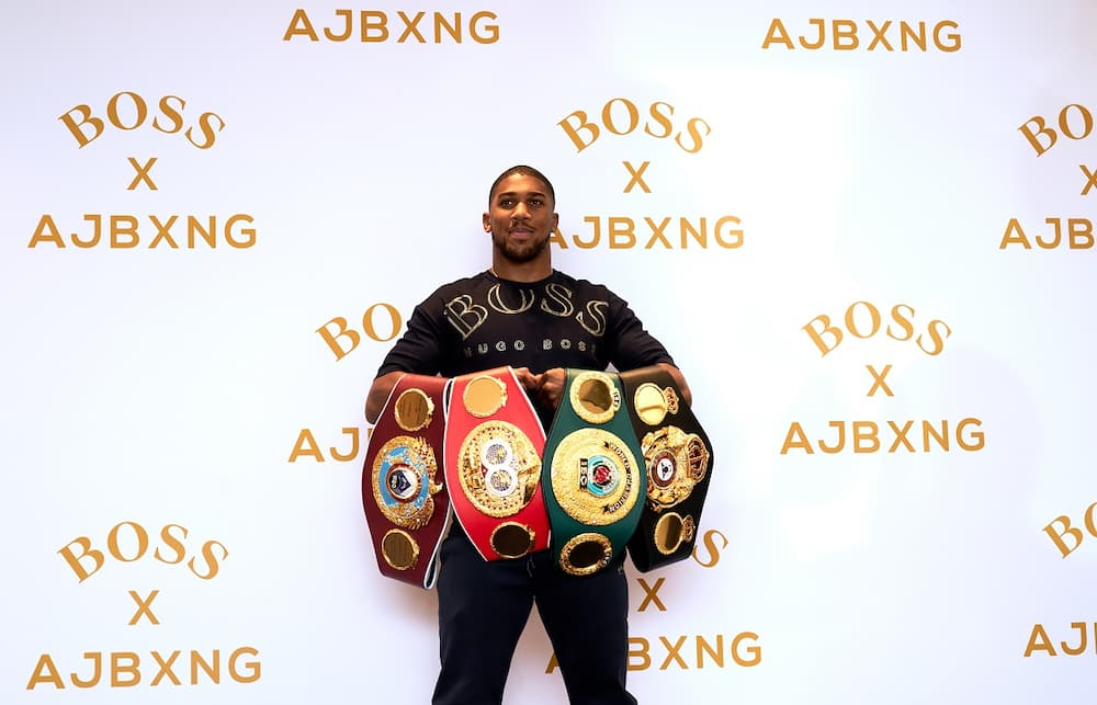 Anthony Joshua: Kubrat Pulev refers to Briton's skin colour ahead of heavyweight fight