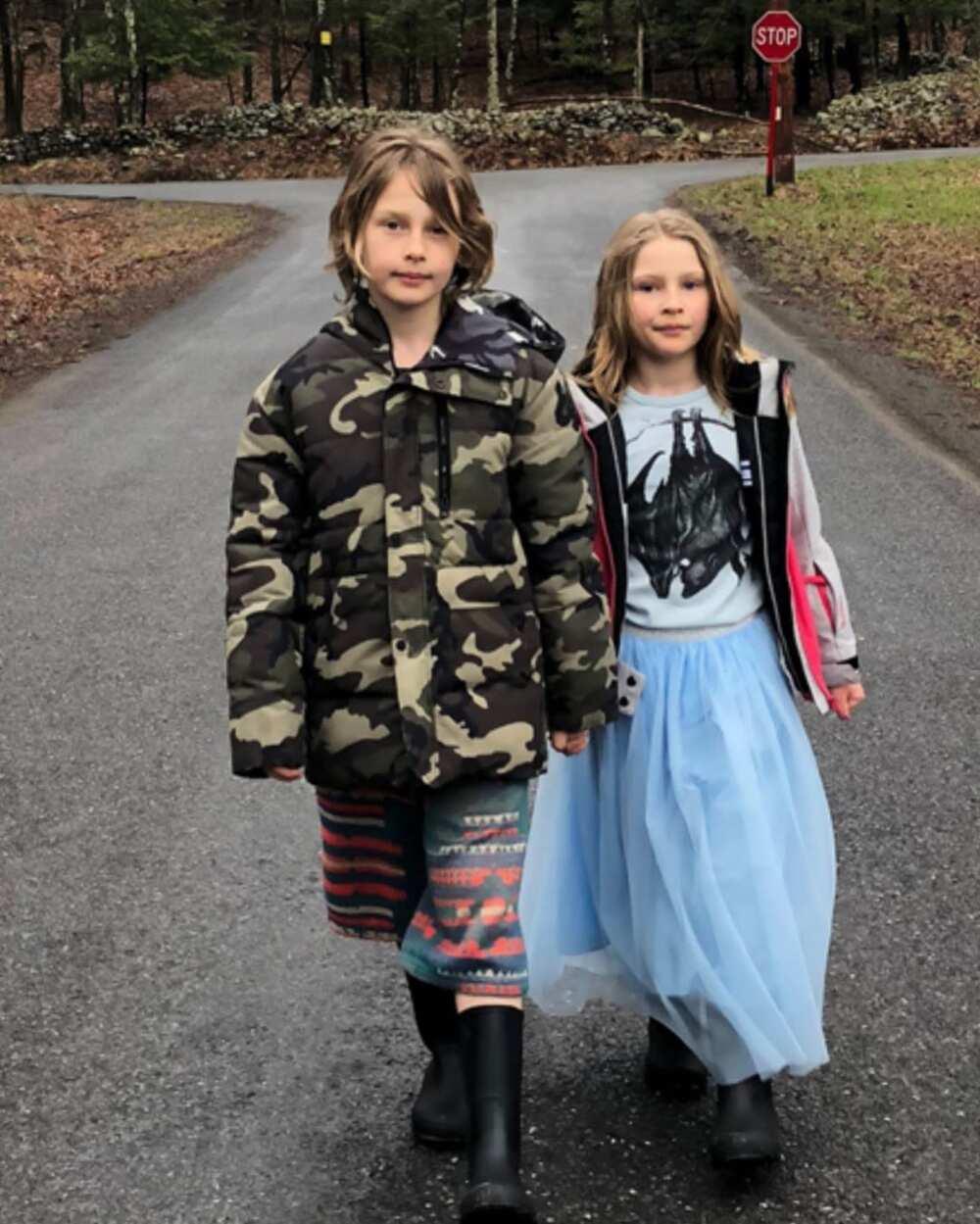 Vera Farmiga kids