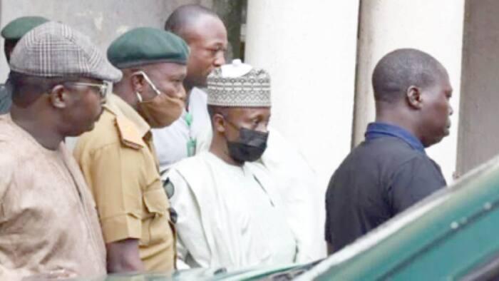 Breaking: Fuel subsidy fraudster, Farouk Lawan, arrives Kuje prison