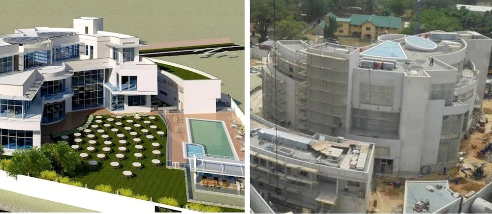 The Most Expensive House in Africa under construction