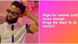 Nollywood actor Bucci Franklin says Nigerian women aren't loved enough, fans disagree
