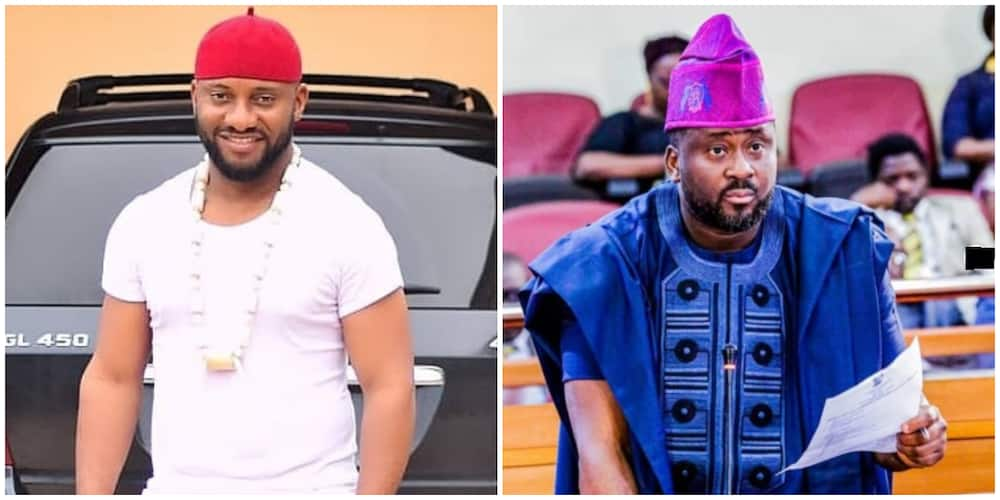 Desmond Elliot: Yul Edochie reacts to lawmaker's controversial remarks