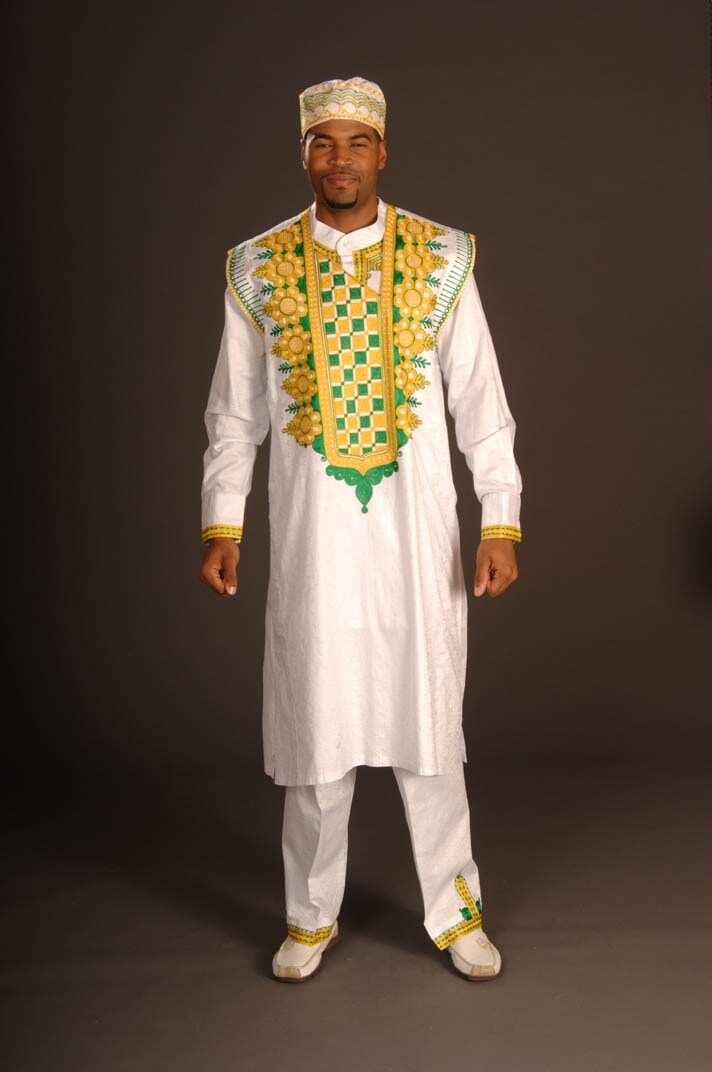 Men's native attire