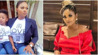 BBNaija 2021: Beautiful photo of Tega and her handsome son surface online as he clocks new age