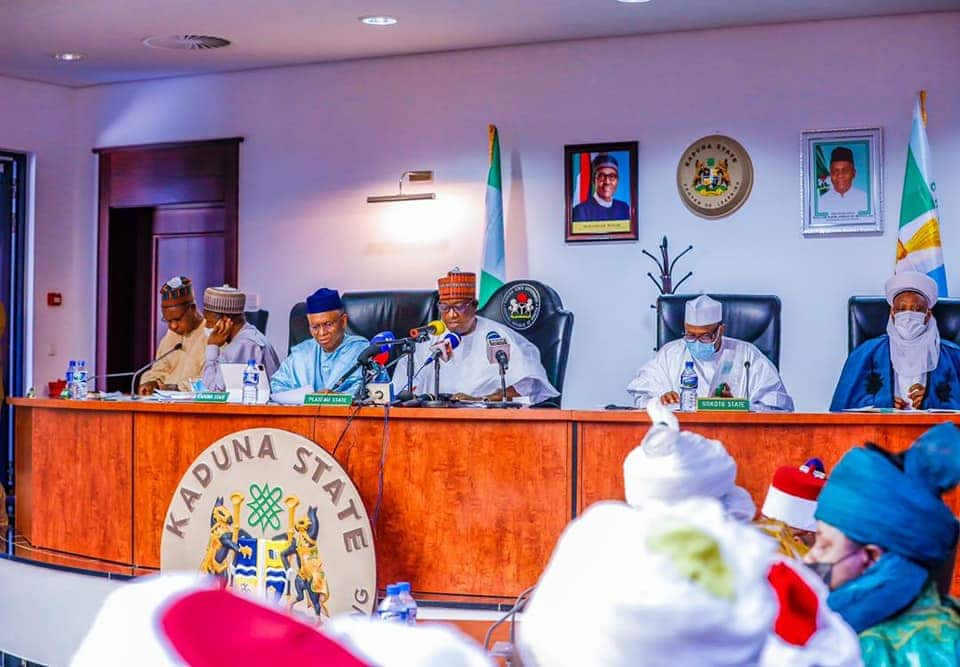Full Text: Resolutions of Northern Governors at Kaduna Meeting