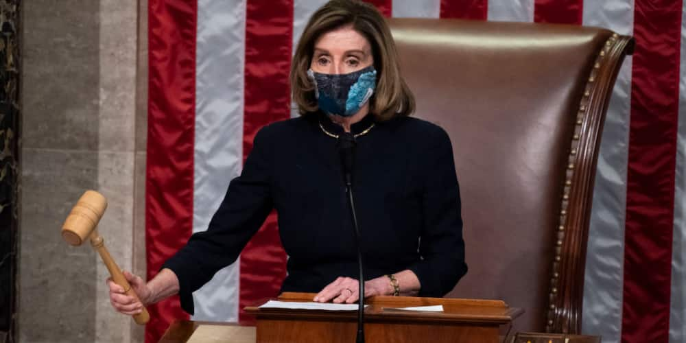 Nancy Pelosi wears same outfit to both of Donald Trump's impeachments, fans react