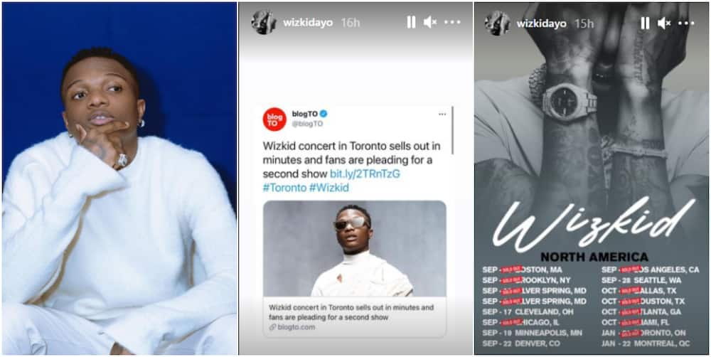 Wizkid To The World: Singer's January 2022 Made In Lagos Concert Sells Out in Minutes